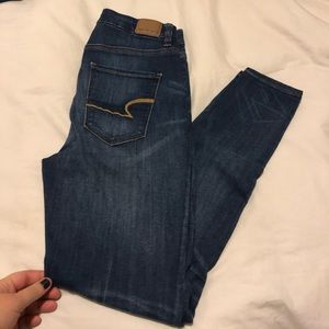 American Eagle Curvy High Rise Jeans